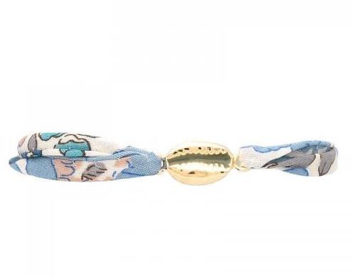 """Bracelet Cauri """"by garance"""" Divers Coloris au Choix"""
